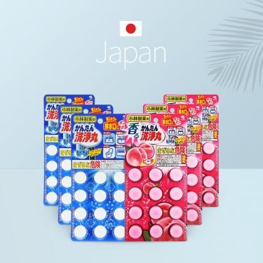 日本进口小林制药下水道多用途管道清洁丸12粒