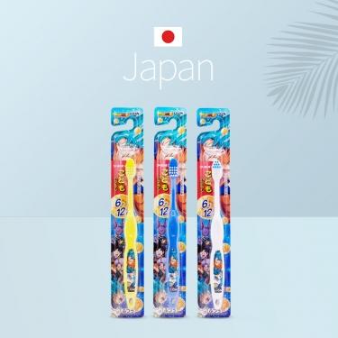 日本进口狮王普通毛儿童牙刷七龙珠6-12岁