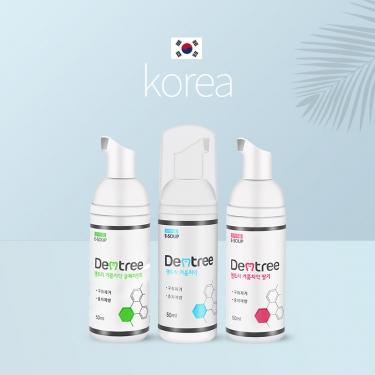 韩国进口Dentree洁牙慕斯按压式液体泡沫牙膏50ml