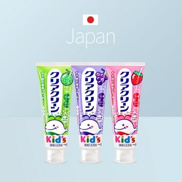 日本进口花王儿童牙膏 可吞咽 70g 药用