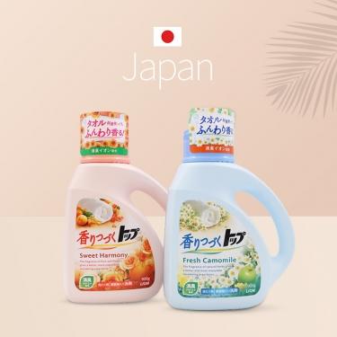 日本进口狮王洗衣液 香味持续900g
