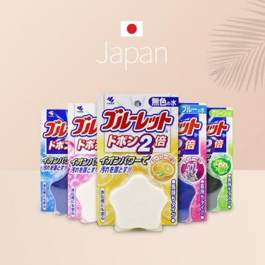 日本进口小林制药马桶水箱用清洁锭120g