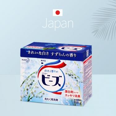 日本进口花王铃兰洗衣粉800g