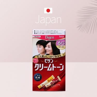 日本进口美源可瑞慕白发遮盖染发膏纯植物染发剂 6G