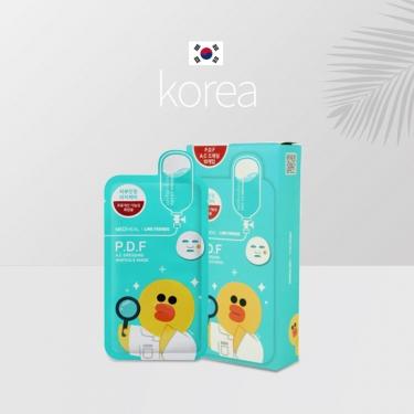 韩国进口美迪惠尔恋朋卡通动物面膜10pic