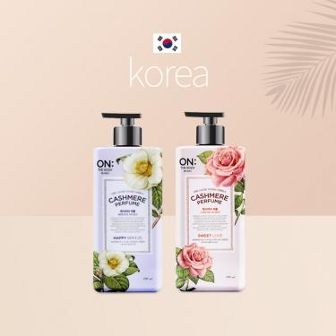 韩国进口安宝笛甜蜜爱恋香水保湿润体乳400ml