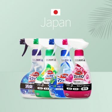 日本进口花王马桶厕所浴室清洁剂清洁喷雾380g