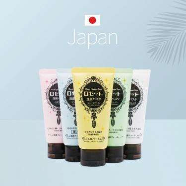 日本进口露姬婷海泥深度清洗面奶120g