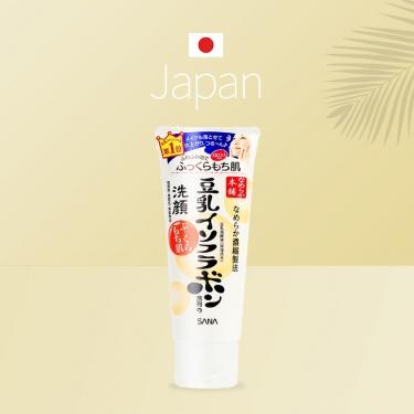 日本进口莎娜豆乳泡沫洗面奶150g