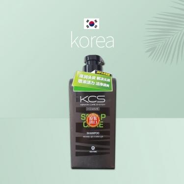 韩国进口爱敬可希丝男士洗发香波头皮护理型去屑550ml