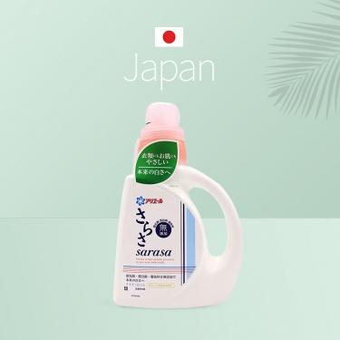 日本进口宝洁sarasa无荧光剂漂白剂着色剂洗衣液850g