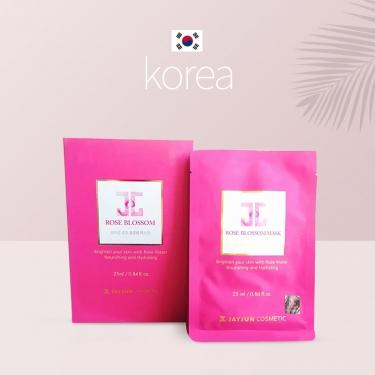 韩国进口JAYJUN 水光玫瑰面膜25ml*10pic