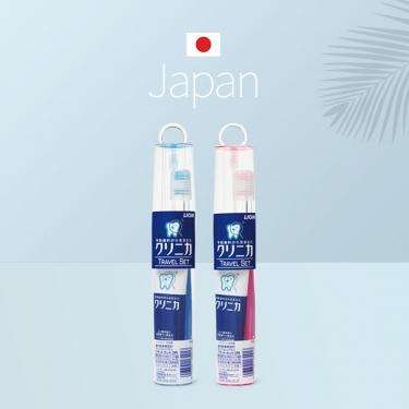 日本进口狮王酵素牙膏旅行套装30g