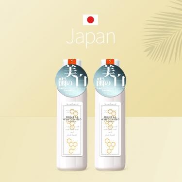 日本进口比那氏美白漱口水600ml