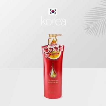 韩国进口爱敬可希丝护发素沙龙弹力丰盈染烫发质适用600ml红