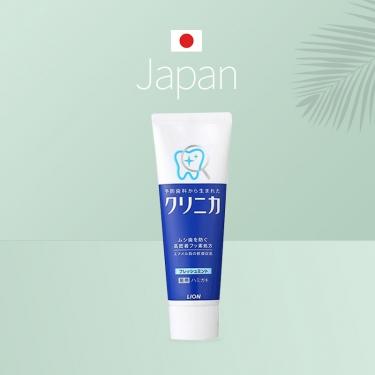 日本进口狮王酵素牙膏除垢美白防口臭130g 药用