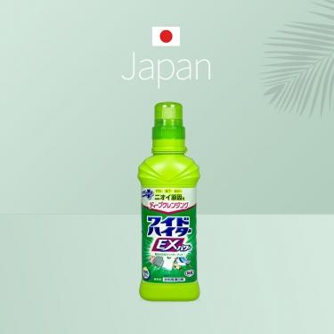 日本进口花王衣物彩漂剂600ml