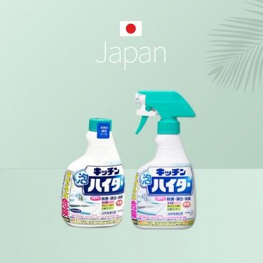 日本进口花王多用途清洁厨具菜板除菌泡沫喷雾400ml+400ml替换装