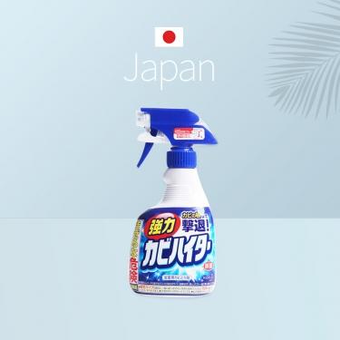 日本进口花王浴室瓷砖除垢除菌除霉喷雾清洁剂400ml+400ml替换装