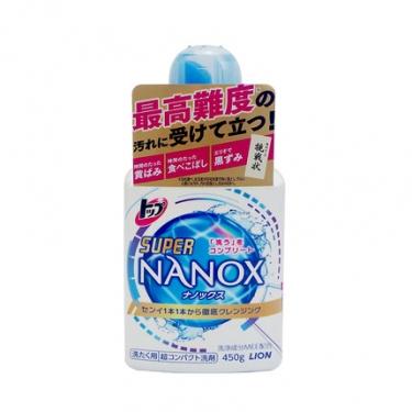 日本进口狮王纳米洗衣液450g